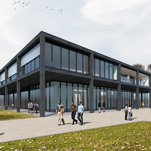 3D-Visualisierung Gebäude RITZ