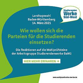 Landtagswahlen 2021 - Wahlprüfsteine