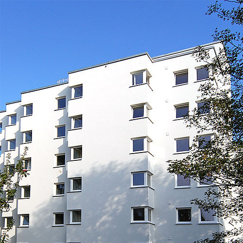 Außenansicht Jacob-Burckhardt-Straße