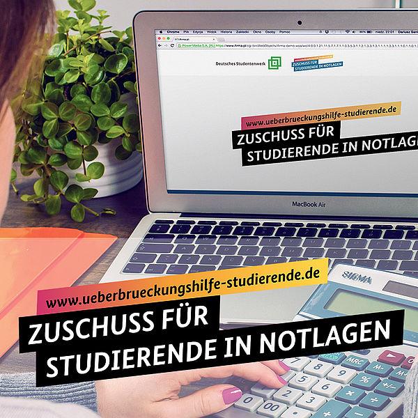 """[Bitte in """"English"""" uebersetzen:] Bild Überbrückungshilfe-studierende.de"""