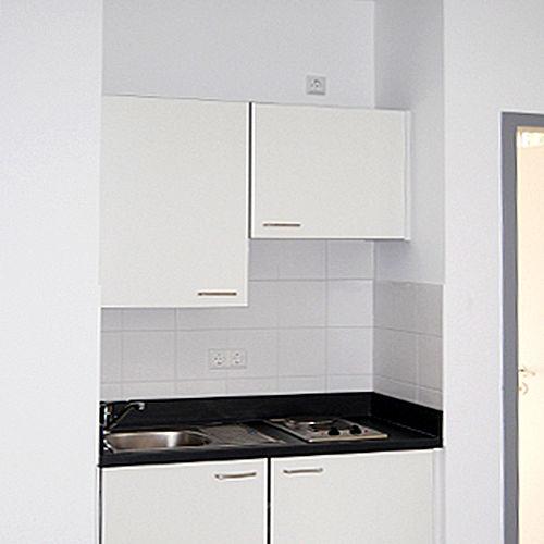 Küche Einzelappartement